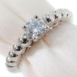 Van Cleef & Arpels Van Cleef & Arpels Perle Diamond K18 White Gold No. 8 0.31 engraved Women's Rings and Rings [pre-owned] SA rank