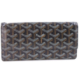 GOYARD Goyal PVC coated canvas unisex wallet [used]
