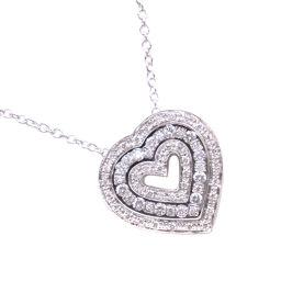 Damiani Belle Epoque 20083822 K18 White Gold × Diamond Women's Necklace [Pre] SA Rank