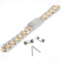 ROLEX ロレックス ベルトのみ 12コマ 78353 YG×ステンレススチール ゴールド ボーイズ 腕時計【中古】