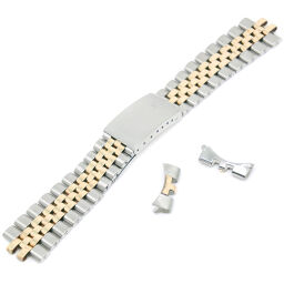 ROLEX Rolex Belt Only 6252H14 / FF255 1601/1603/1625/1675 Stainless Steel x YG Gold Men's Watch [Used]