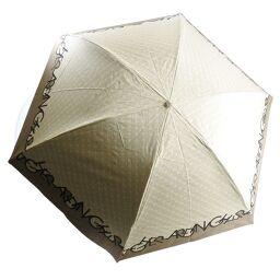 GHERARDINI Folding Umbrella Rain Umbrella / Sun Umbrella Combined Polyester Beige Ladies Other Miscellaneous Goods [Used] S Rank