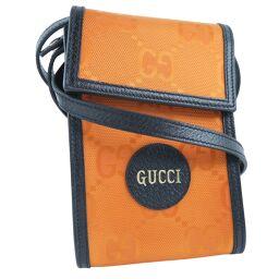 GUCCI Gucci OFF THE GRID Pochette 625599 GG Canvas Orange Unisex Shoulder Bag [Used] S Rank