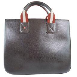 BALLY Bally Calf Brown Ladies Handbag [Used]