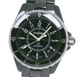 CHANEL シャネル J12 H0685 セラミック×ステンレススチール 自動巻き ユニセックス 黒文字盤 腕時計【中古】