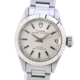 TUDOR Tudor Princess Oyster 7592/4 Stainless Steel Self-winding Ladies White Dial Watch [Used]