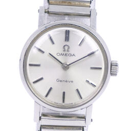 OMEGA Omega Geneve cal.620 Stainless Steel Manual Winding Analog Display Ladies Silver Dial Watch [Used]