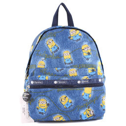 LeSportsac LeSportsac Backpack Minion Nylon Blue Unisex Backpack Daypack [Used] S Rank