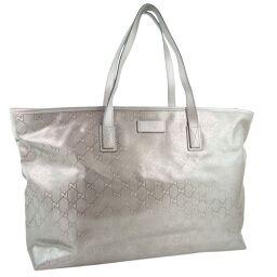GUCCI Gucci GG Imprime 211120 PVC Bronze Ladies Tote Bag [Used] A-Rank