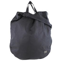 PORTER 2WAY shoulder back nylon black unisex handbag [used] SA rank