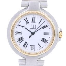 Dunhill ダンヒル ミレニアム ステンレススチール クオーツ レディース 白文字盤 腕時計【中古】
