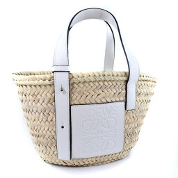 LOEWE Loewe basket bag Raffia ladies handbag [used] A rank