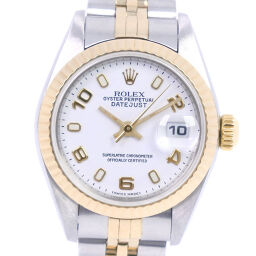 ROLEX Rolex Datejust 79173 Stainless Steel x YG Automatic Ladies White Dial Watch [Used]