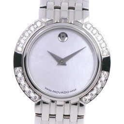 Movado Movado 84A180 Stainless Steel Quartz Ladies White Shell Dial Watch [Used] A Rank