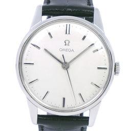 OMEGA オメガ ステンレススチール 手巻き メンズ シルバー文字盤 腕時計【中古】