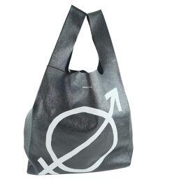 BALENCIAGA Balenciaga Shopper Bag 506781 Calf Black Ladies Handbag [Used] A rank