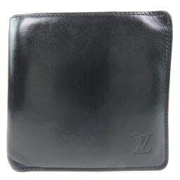 LOUIS VUITTON ルイ・ヴィトン ポルトフォイユ・マルコ M85016×ノマド 黒 AR0067刻印 メンズ 二つ折り財布【中古】