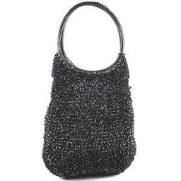 ANTEPRIMA wire back wire black ladies handbag [used]
