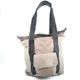 CHANEL Nylon Brown Women's Tote Bag [Used]