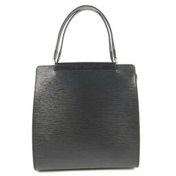 LOUIS VUITTON Figari MM M52002 Epi Leather Black FL0025 Engraved Ladies Handbag [Used] A-Rank