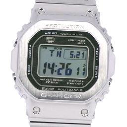 CASIO カシオ Gショック GMW-B5000D-1JF ステンレススチール ソーラー電波時計 メンズ シルバー文字盤 腕時計【中古】Aランク