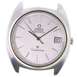 <html>    <body>   OMEGA オメガ コンステレーション エレクトロ ※ジャンク cal.1250 ステンレススチール アナログ表示 メンズ シルバー文字盤 腕時計【中古】        </body> </html>