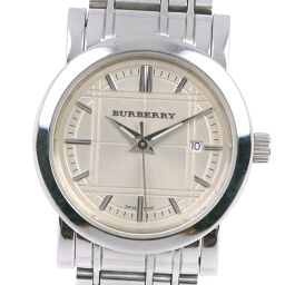 BURBERRY BU1353 Stainless Steel Quartz Analog Display Ladies Champagne Gold Dial Watch [Used] A-Rank