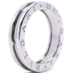 BVLGARI Bzero1 1 Band Bzero1 K18 White Gold No. 14 Ladies Ring / Ring [Used] A-Rank