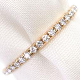 TIFFANY & Co. Tiffany Full Eternity K18 Yellow Gold x Diamond No. 6.5 Ladies Ring / Ring [Used] A rank