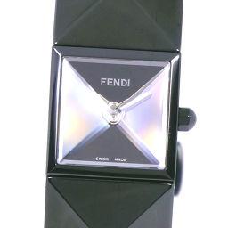 FENDI フェンディ オロロジ 4270L ステンレススチール ブラック クオーツ レディース 黒文字盤 腕時計【中古】Aランク