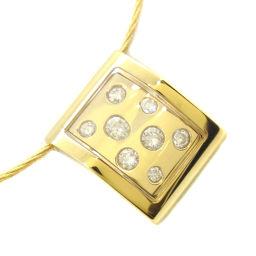 CHARRIOL シャリオール K18イエローゴールド×ダイヤモンド レディース ネックレス【中古】SAランク