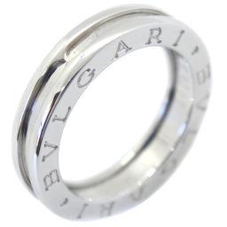 BVLGARI ブルガリ 1バンド K18ホワイトゴールド 15号 ユニセックス リング・指輪【中古】A+ランク