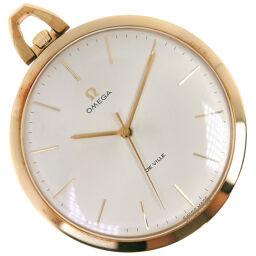 OMEGA Omega Devil / Devil GP Gold Manual winding Analog display Unisex Silver dial Pocket watch [Used] A rank