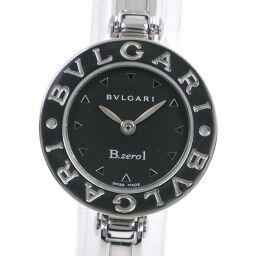 BVLGARI Bzero1 BZ22S Stainless Steel Quartz Ladies Black Dial Watch [Used] A-Rank