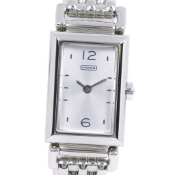 COACH Coach CA.66.7.14.0624 Stainless Steel Quartz Ladies Silver Dial Watch [Used] A-Rank