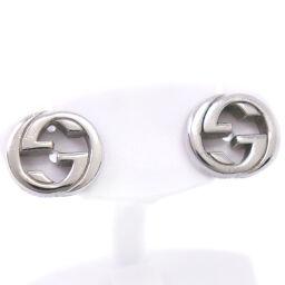 GUCCI Gucci Interlocking G Silver 925 Unisex Earrings [Used]