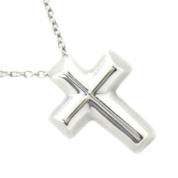 TIFFANY & Co. Tiffany Cross Paloma Picasso Silver 925 Ladies Necklace [Used]
