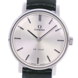 OMEGA Omega Devil / Devil cal.620 511.386 Stainless Steel x Leather Manual Winding Ladies Silver Dial Watch [Used]