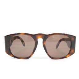 CHANEL 01450 91235 Plastic Brown Unisex Sunglasses [Used] A-Rank