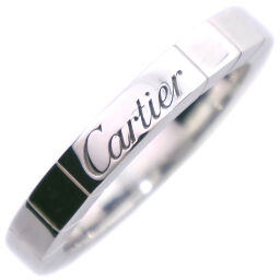 CARTIER カルティエ ラニエール K18ホワイトゴールド 8号 レディース リング・指輪【中古】A-ランク