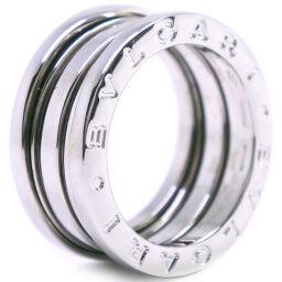 BVLGARI ブルガリ ビーゼロワン Bzero1 K18ホワイトゴールド 9.5号 レディース リング・指輪【中古】SAランク