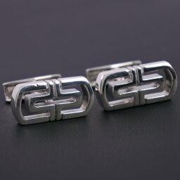 BVLGARI Bvlgari Open Parenten Silver 925 Men's Cufflinks [Used] A-Rank