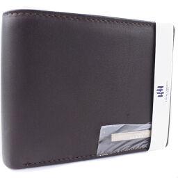 KANSAI YAMAMOTO カンサイヤマモト レザー 茶色 メンズ 二つ折り財布【中古】Sランク