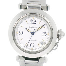 CARTIER Cartier Pasha C 2324 Stainless Steel Self-winding Unisex White Dial Watch [Used]