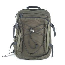 PRADA Prada Backpack 2VZ055 Nylon Khaki Unisex Backpack Daypack [Used] A-Rank