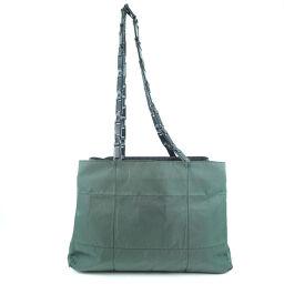 PRADA Prada Nylon Green Women's Shoulder Bag [Used]