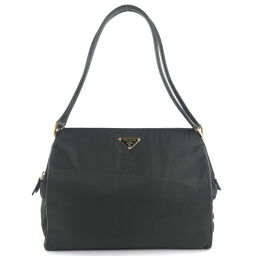 PRADA Prada Nylon Black Women's Shoulder Bag [Used]