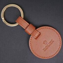 ROLEX Rolex Key Ring Leather Unisex Key Case [Used] S Rank