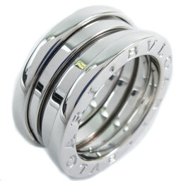 BVLGARI Bzero1 Bzero1 K18 White Gold No. 8 Ladies Ring / Ring [Used] A rank