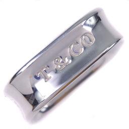TIFFANY & Co. Tiffany Square 1837 Silver 925 17.5 Men's Rings / Rings [Used] A-Rank